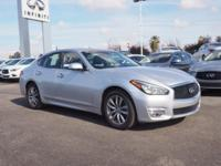 This 2015 INFINITI Q70 4DR SDN V6 RWD boasts features