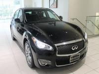 JUST IN!!  2015 INFINITI Q70 3.7X, Black Obsidian,