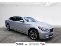 MOONROOF, PREMIUM STEREO, PUSH BUTTON START, Q70L 3.7,