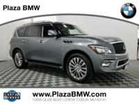 CARFAX 1-Owner, GREAT MILES 30,202! QX80 trim. Sunroof,