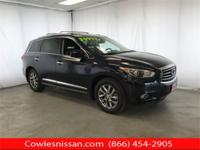 CARFAX One-Owner. Hermosa Blue 2015 INFINITI QX60 AWD