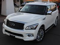 2015 Infiniti QX80 SUV Deluxe Technology Pkg. Highly