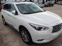 This Infiniti QX60 has a powerful Premium Unleaded V-6
