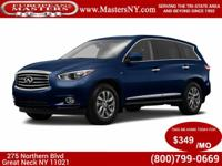 This Wonderful Blue 2015 Infiniti QX60 AWD Sport