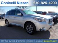 CarFax 1-Owner, LOW MILES, This 2015 Infiniti QX60 4DR