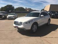 CARFAX One-Owner. Clean CARFAX. White 2015 INFINITI