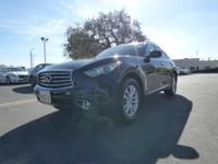 Options:  2015 Infiniti Qx70 Rwd 4Dr|Certified