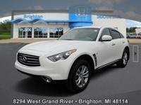 Options:  2015 Infiniti Qx70 Base|Carfax One-Owner.