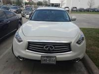 We are excited to offer this 2015 INFINITI QX70. This