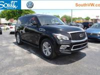 Recent Arrival! 2015 INFINITI QX80 Black Obsidian Why