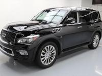 2015 Infiniti QX80 with Driver Assistance Package,Split