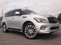 Infiniti Certified!..This One Owner QX80 has All the