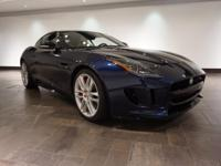 **CERTIFIED** This 2015 Jaguar F-TYPE R Coupe is