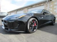 2015 Jaguar F-TYPE S Black RWD **NEW TIRES**, **NEW