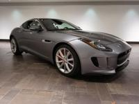 This 2015 Jaguar F-TYPE S Coupe is offered in Lunar