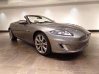 **CERTIFIED** This 2015 Jaguar XK convertible is