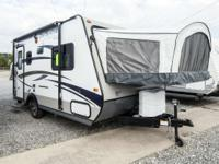 2015 Jay Feather Ultra Lite X17Z Towable by many SUVs
