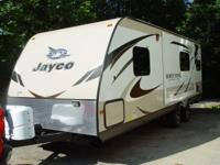 2015 Jayco 27' White Hawk Model 24RKS Ultra Light