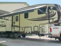 2015 Jayco Eagle HT 27.5RLTS fifth wheel, 3 slide-outs,