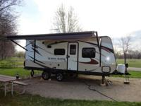 20ft 2015 Jayco Whitehawk for sale. Bought brand new