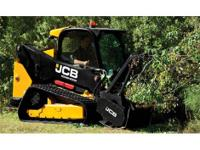 2015 JCB 260T Cab w/ heat & air susp seat foot throttle