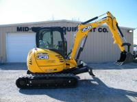 The 8045 ZTS compact excavator also boasts a smooth