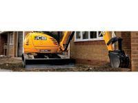the 8045 ZTS mini excavator is rounded off by