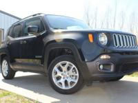 2015 Jeep Renegade Latitude Black Odometer is 26771