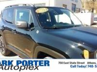 Recent Arrival! Black 2015 Jeep Renegade Trailhawk 4D