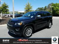 This 2015 Jeep Grand Cherokee Limited in Brilliant