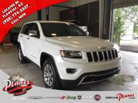 2015 Jeep Grand Cherokee Limited Certified. CARFAX