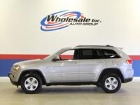 New Price! CARFAX One-Owner. 2015 Gray Jeep Grand