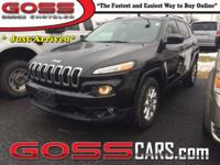 Brilliant Black Crystal Pearlcoat 2015 Jeep Cherokee