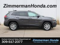 Come test drive this 4 Wheel Drive *2015 Jeep Cherokee
