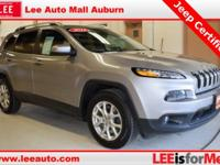 2015 Jeep Cherokee Latitude Grey Bluetooth, Hands free