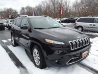 FRESH ARRIVAL !!..2015 JEEP CHEROKEE LIMITED..WOW. ONE