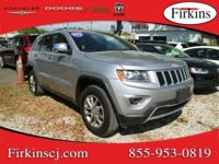 New Price! CARFAX One-Owner. Grey 2015 Jeep Grand