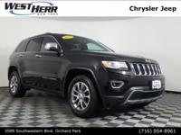 New Price! Certified. 2015 Jeep Grand Cherokee Limited