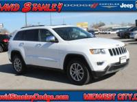 New Price! CARFAX One-Owner. Certified. White 2015 Jeep