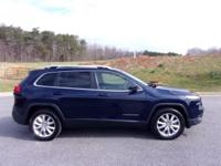 A low mileage Cherokee Limited 4X4 with the V6. Options