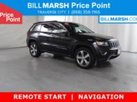 2015 Jeep Grand Cherokee Limited 4WD 4WD. New Price!
