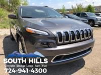2015 Jeep Cherokee Limited 3.2L V6, 8.4 Touch Screen
