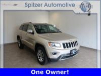 Jeep Grand Cherokee Limited CARFAX One-Owner. Clean