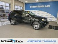 This 2015 Jeep Grand Cherokee Limited in Black Forest