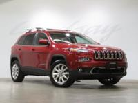 Deep Cherry Red Crystal Pearlcoat 2015 Jeep Cherokee