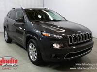 Recent Arrival! 2015 Jeep Cherokee Limited granite
