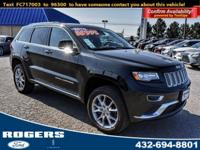 Our 2015 Jeep Grand Cherokee Summit 4x4 is one of the