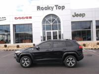 Climb inside the 2015 Jeep Cherokee! It just arrived on