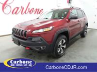New Price! 2015 Jeep Cherokee 4WD Trailhawk Great