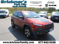 2015 Jeep Cherokee Trailhawk CARFAX One-Owner. *ONE